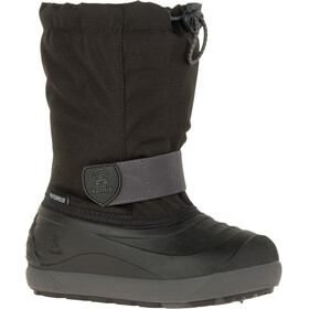 Kamik Jet Winter Boots Kinderen, black charcoal